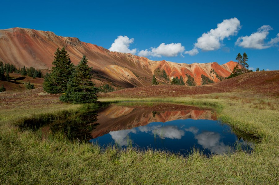 October 1, 2011: Red Mountain Tarns at Corkscrew Gulch