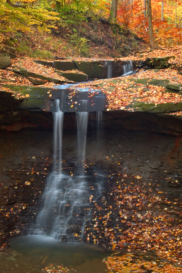 Blue Hen Falls, Cuyahoga National Park