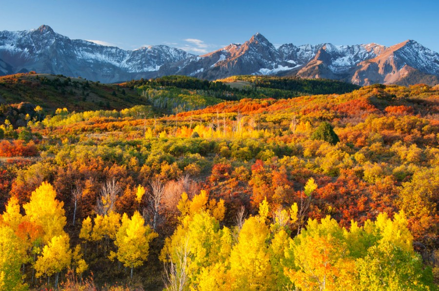 Dallas Divide in Fall, Colorado