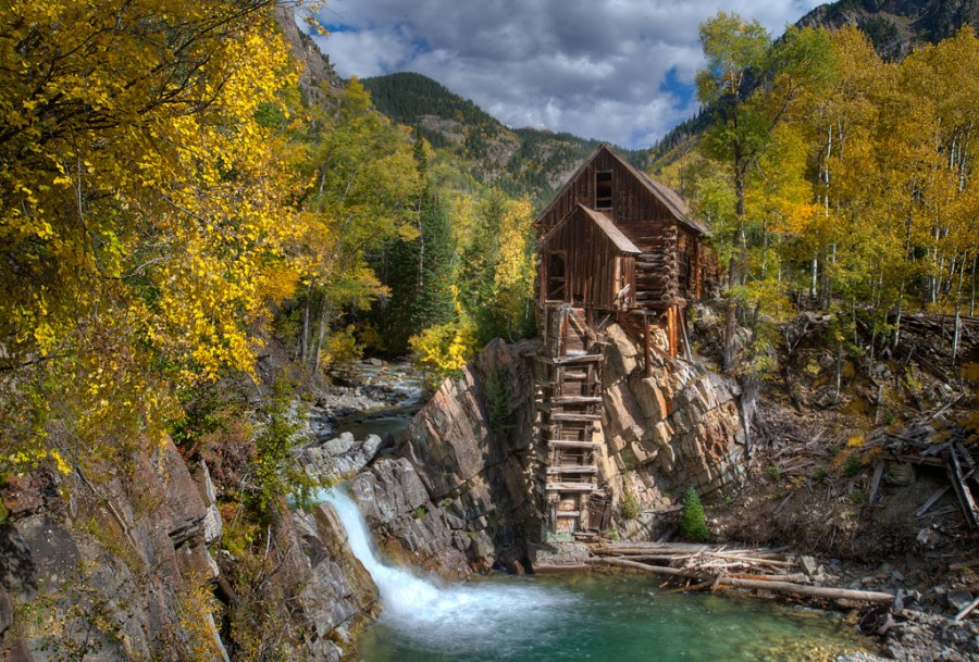 Crystal Grist Mill outside Marble, Colorado