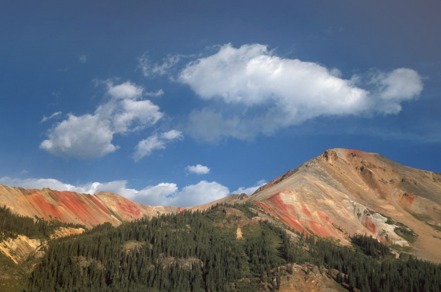 Clouds Over Red Mountain