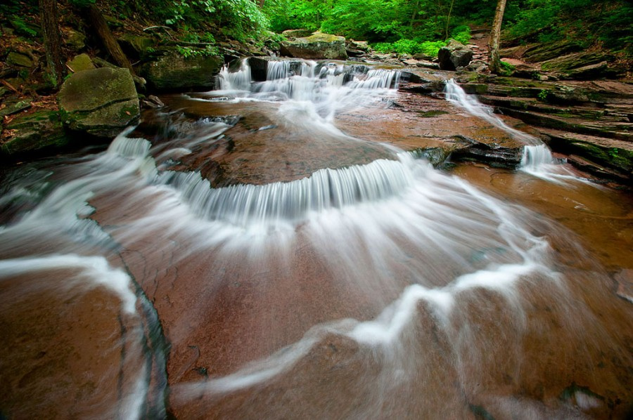 Rushing Water at Triangle Cascades