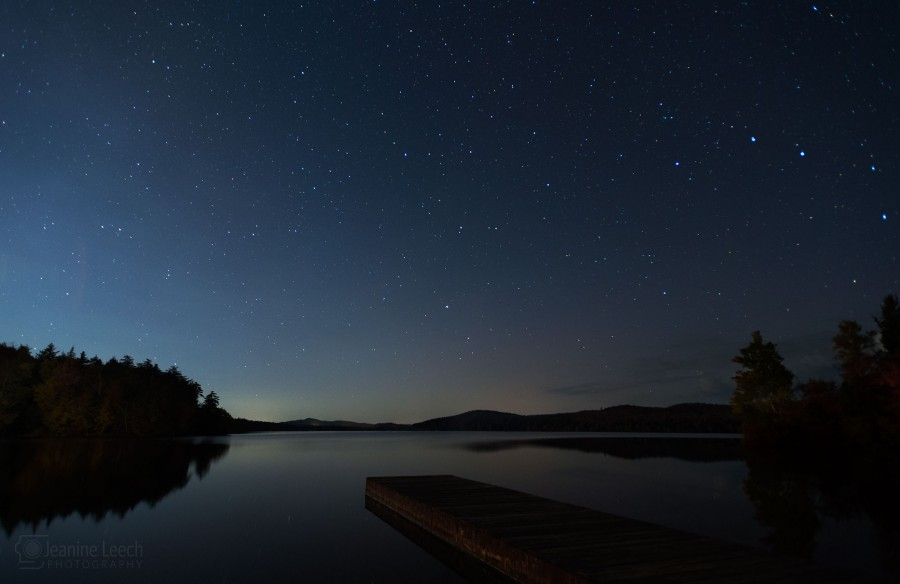 Starry Night at Seventh Lake